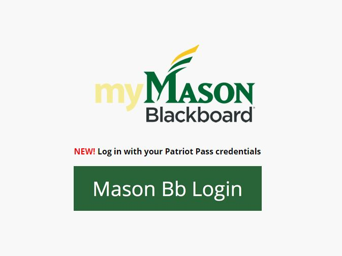 GMU Blackboard Login