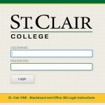 St Clair Blackboard Login