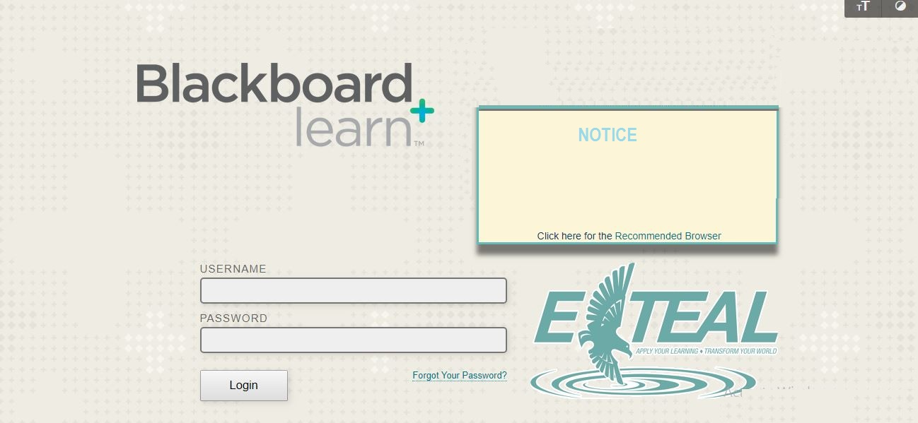 UNCW Blackboard Login